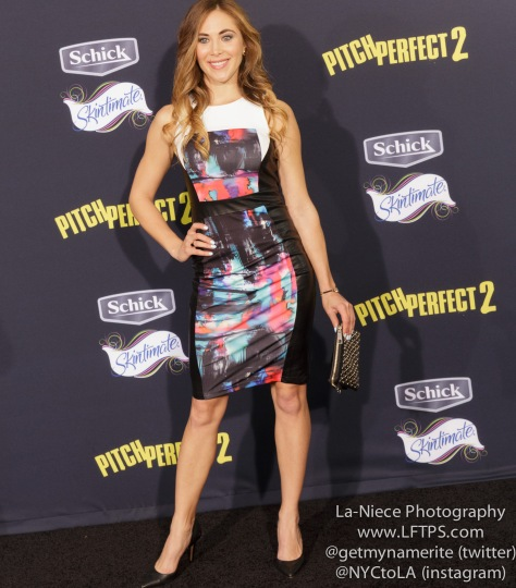 Bonnie Kathleen Ryan AT PITCH PERFECT 2 MOVIE PREMIERE- LOS ANGELES
