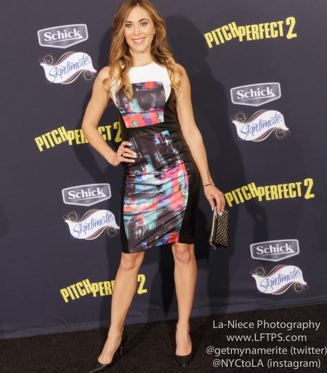 Bonnie Kathleen Ryan AT PITCH PERFECT 2 MOVIE PREMIERE- LOS ANGELES