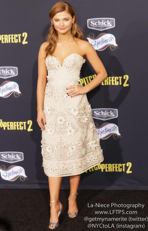 Stefanie Scott AT PITCH PERFECT 2 MOVIE PREMIERE- LOS ANGELES