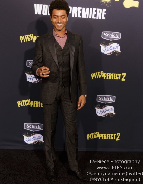 Shawn Carter Peterson AT PITCH PERFECT 2 MOVIE PREMIERE- LOS ANGELES