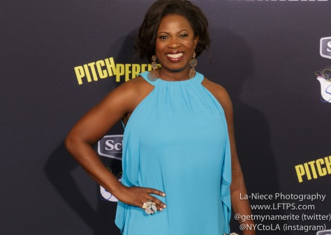 Sope Aluko AT PITCH PERFECT 2 MOVIE PREMIERE- LOS ANGELES