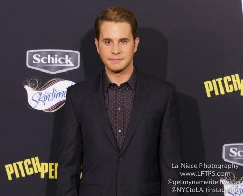 Ben Platt AT PITCH PERFECT 2 MOVIE PREMIERE- LOS ANGELES