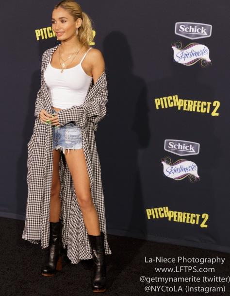 Pia Mia AT PITCH PERFECT 2 MOVIE PREMIERE- LOS ANGELES