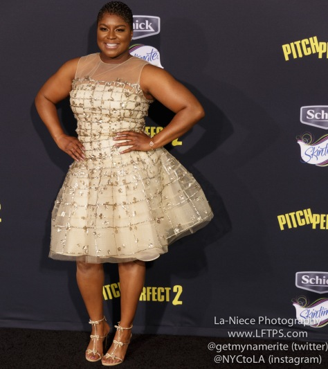 Ester Dean AT PITCH PERFECT 2 MOVIE PREMIERE- LOS ANGELES