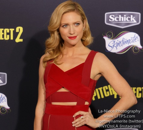 Brittany Snow AT PITCH PERFECT 2 LOS ANGELES MOVIE PREMIERE