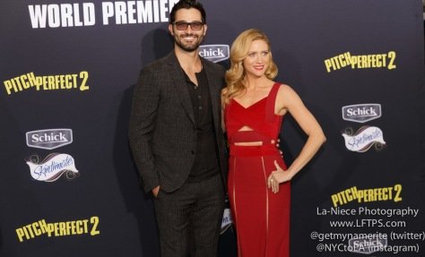 Brittany Snow, Tyler Hoechlin AT PITCH PERFECT 2 LOS ANGELES MOVIE PREMIERE