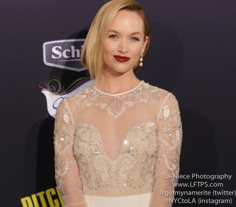 Kelley Alice Jakle AT PITCH PERFECT 2 LOS ANGELES MOVIE PREMIERE