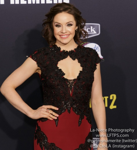 Shelley Regner AT PITCH PERFECT 2 LOS ANGELES MOVIE PREMIERE