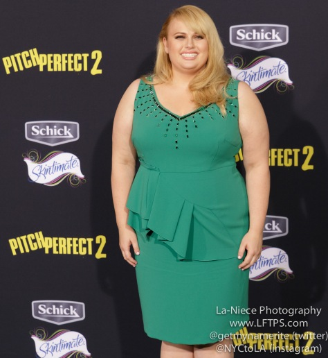 Rebel Wilson AT PITCH PERFECT 2 LOS ANGELES MOVIE PREMIERE