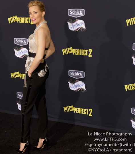 Elizabeth Banks AT PITCH PERFECT 2 LOS ANGELES MOVIE PREMIERE