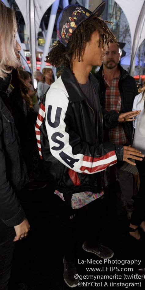 Jaden Smith AT PITCH PERFECT 2 LOS ANGELES MOVIE PREMIERE
