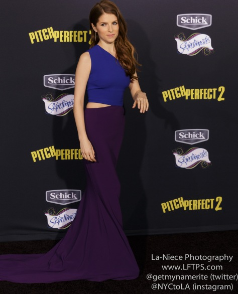 Anna Kendrick AT PITCH PERFECT 2 LOS ANGELES MOVIE PREMIERE