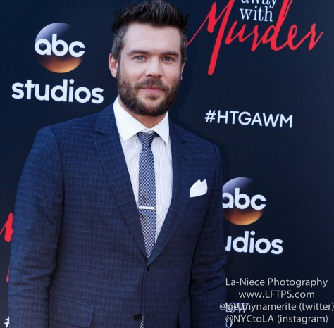 Charlie Weber attends the screening of How To Get Away With Murder ATAS