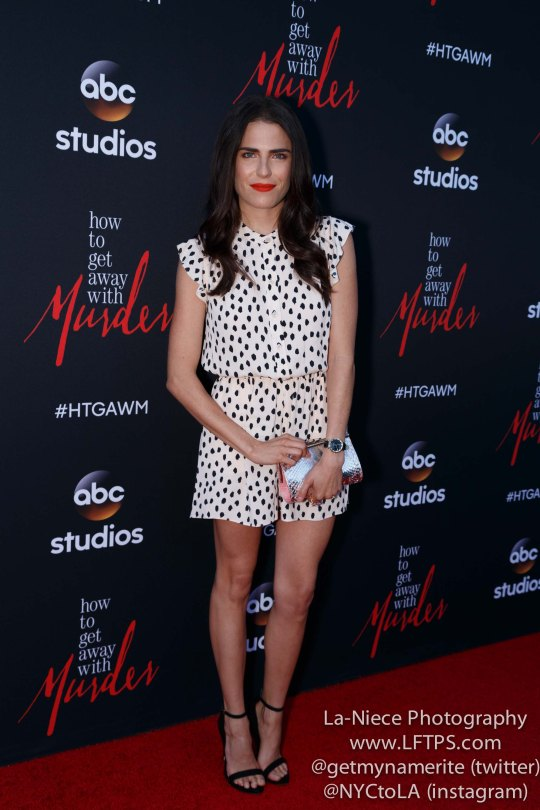 Karla Souza attends the screening of How To Get Away With Murder ATAS