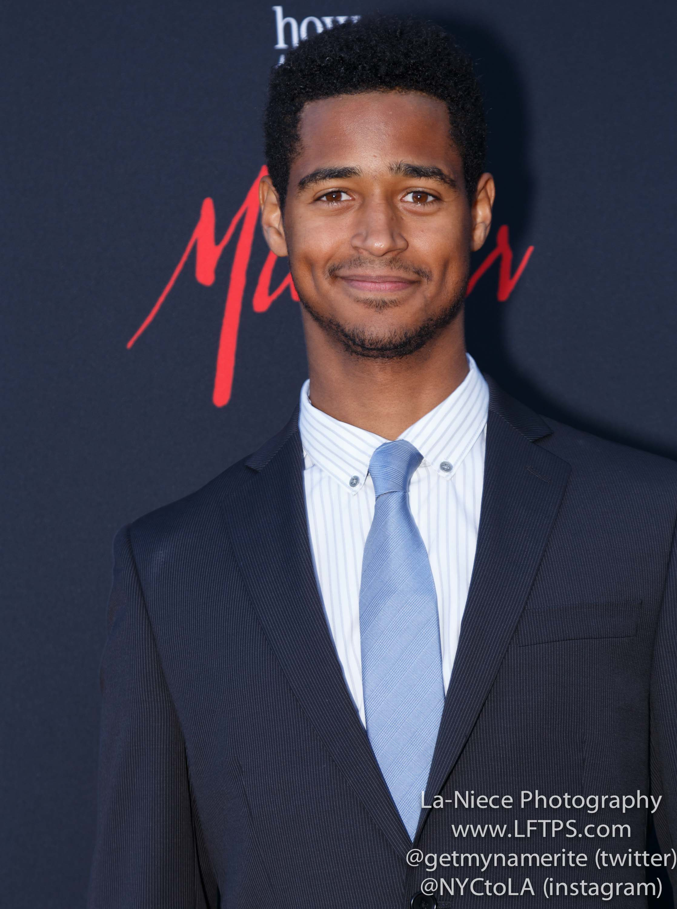 Alfred Enoch Attends The Screening Of How To Get Away With Murder Atas