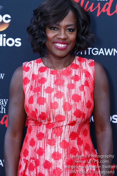 Viola Davis attends the screening of How To Get Away With Murder ATAS