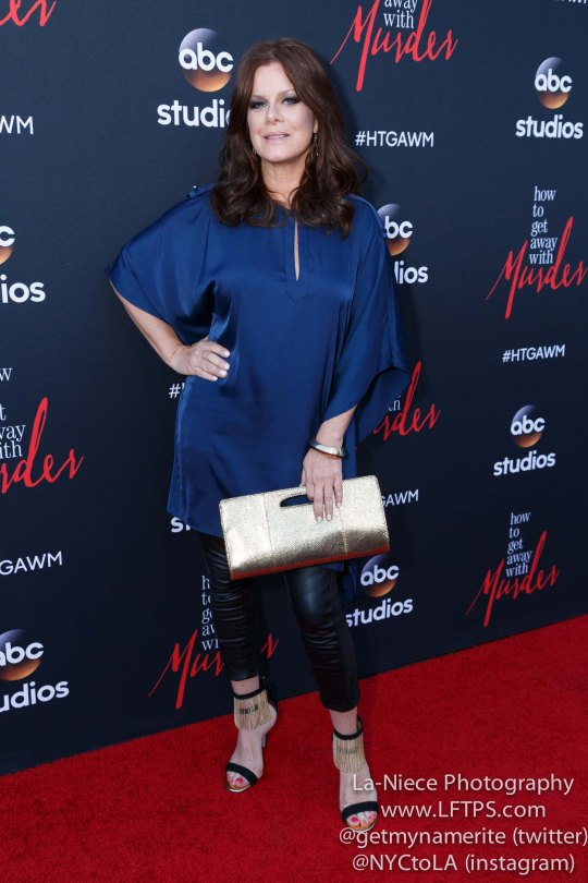 Marcia Gay Harden attends the screening of How To Get Away With Murder ATAS