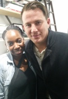 La-Niece and Channing Tatum at The Art for Animals Fundraiser Art Event Hosted by Alison Eastwood