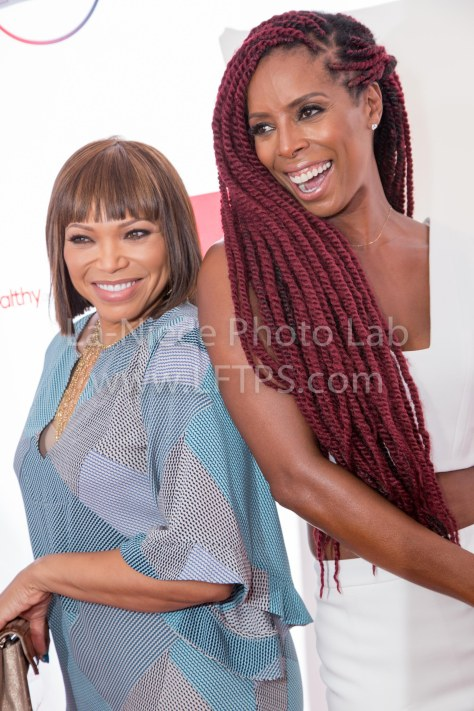 Tisha Campbell-Martin and Tash Smith
