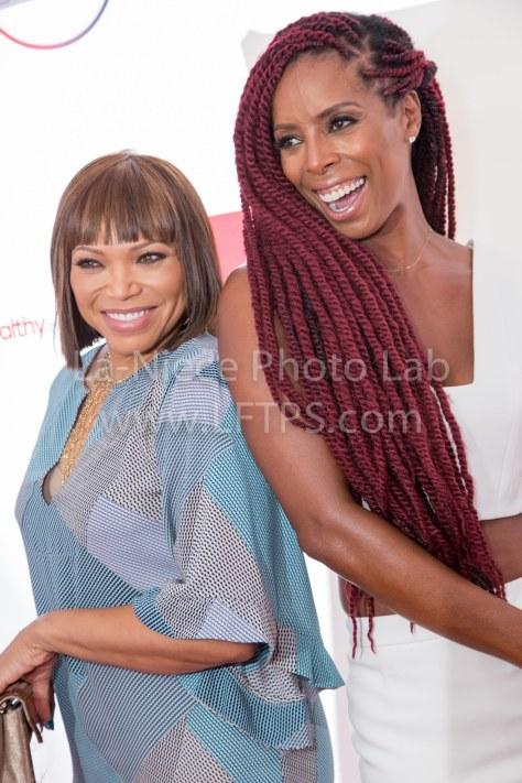 Tisha Campbell-Martin and Tash Smith