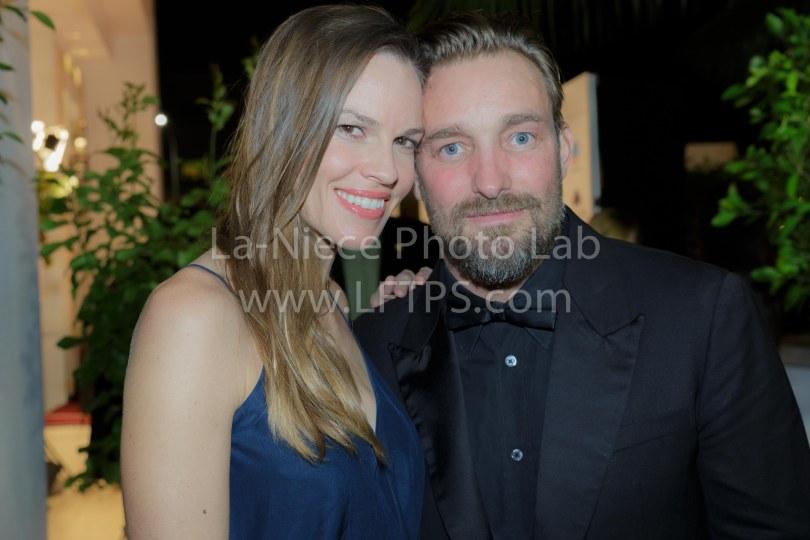 Hilary Swank and Brian Bowen Smith