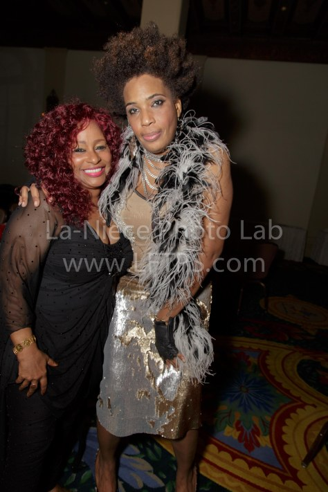 Chaka Khan and Macy Gray