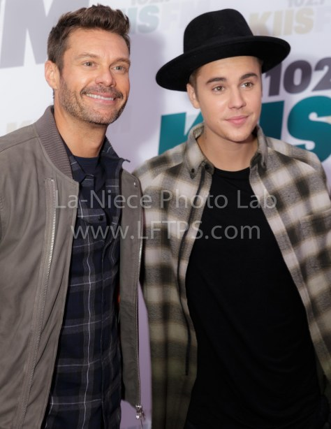 Ryan Seacrest and Justin Bieber